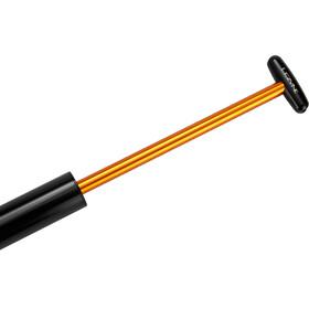 Lezyne Micro Floor Drive XL Minipompka, czarny/złoty